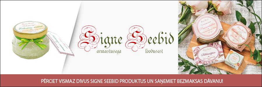Signe Seebid dāvana