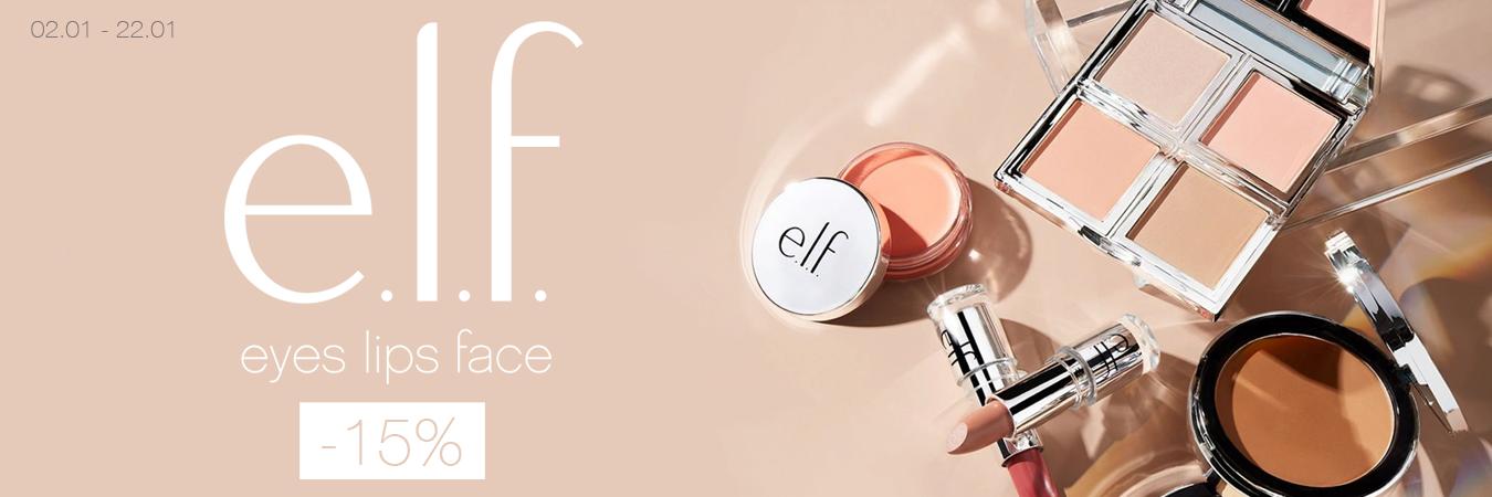 E.L.F. -15%