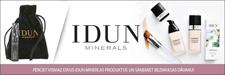 IDUN Minerals dāvana