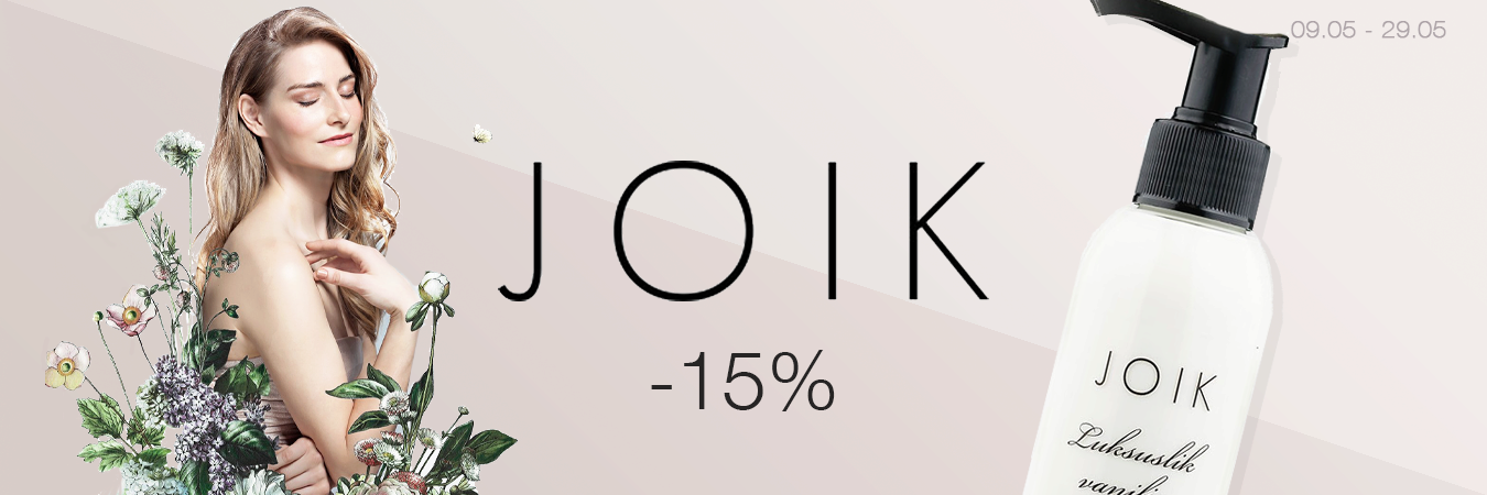 JOIK -15%