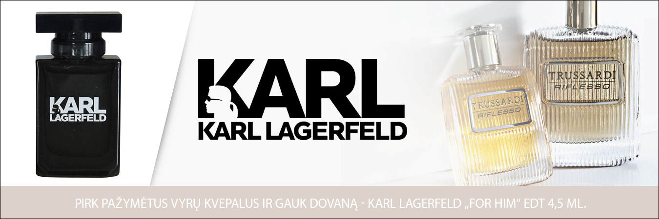 Karl Lagerfeldi dovana