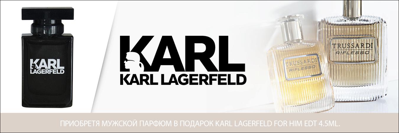 Karl Lagerfeldi подарок