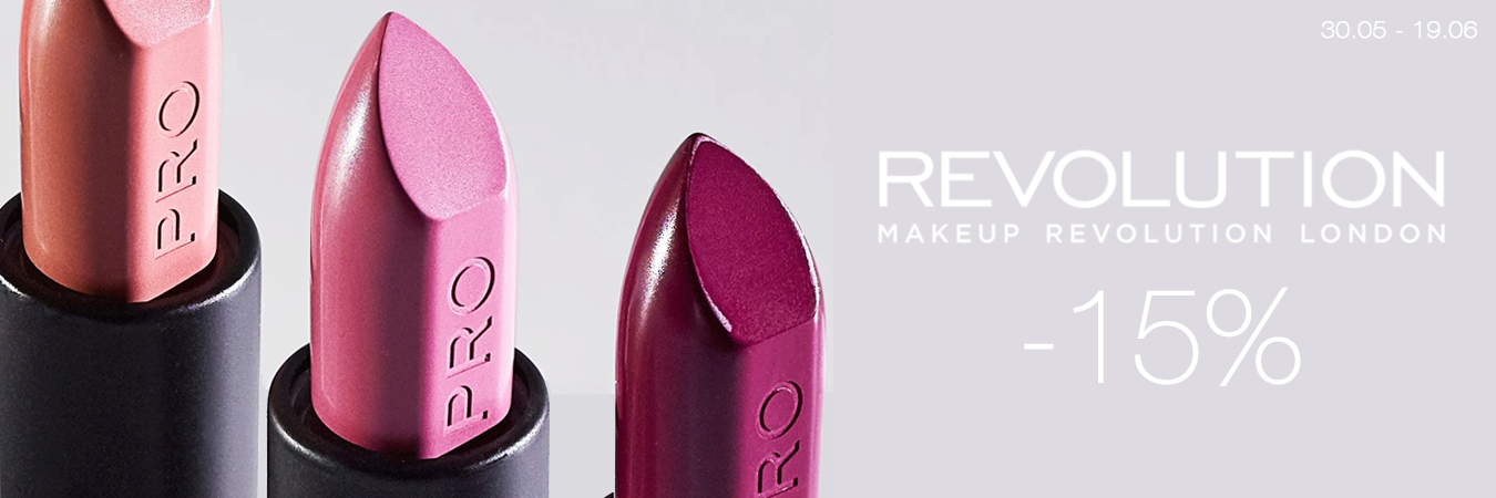 Makeup Revolution -15%
