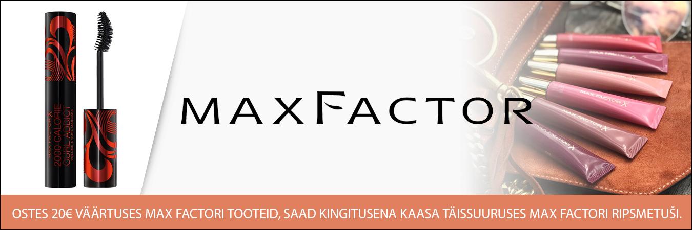 Max Factor kingitus