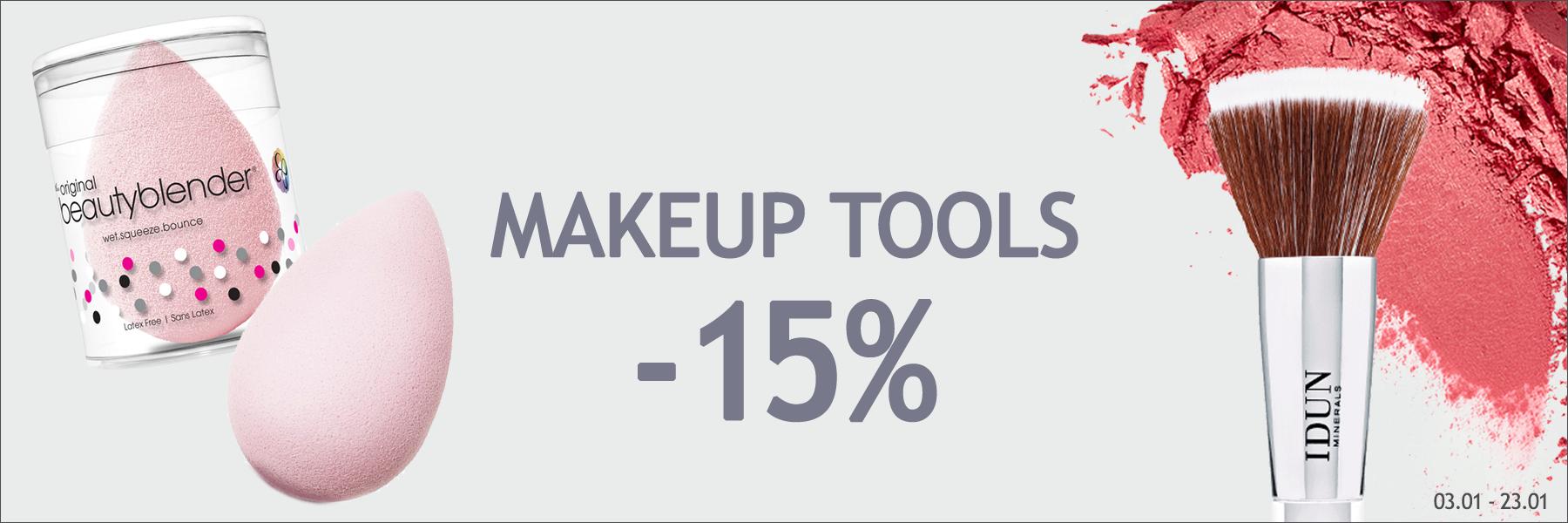 Makeup Tools -15%