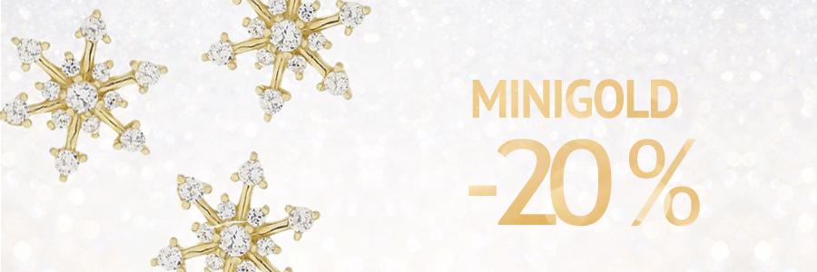 MiniGOLD -20%