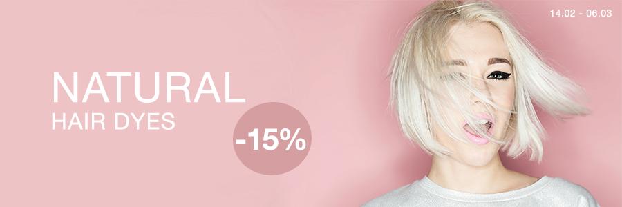 Natural Hair Dyes -15%