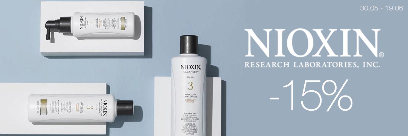 Nioxin -15%