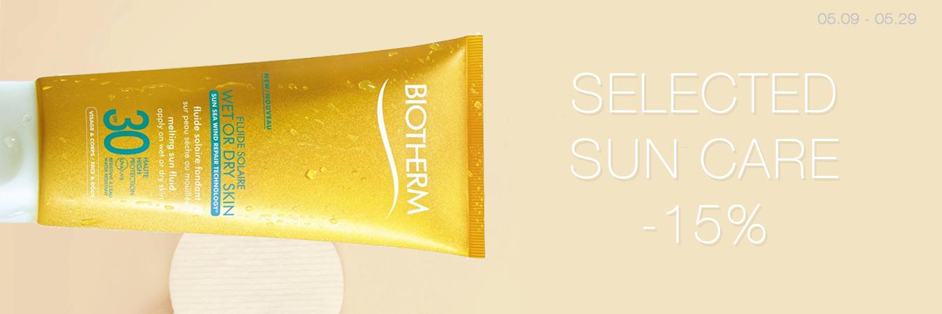 Selected Sun Care -15%