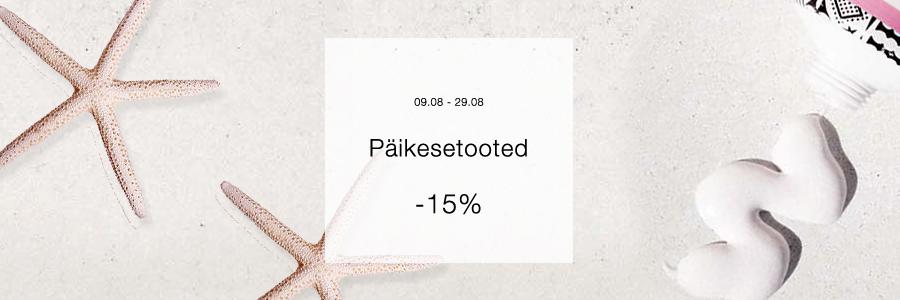 Päiksetooted -15%
