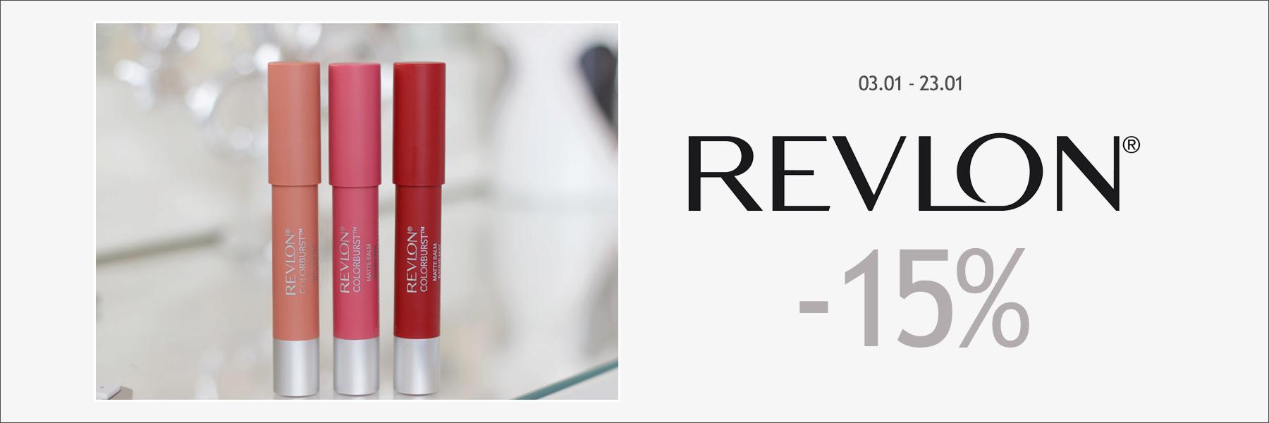 Revlon -15%