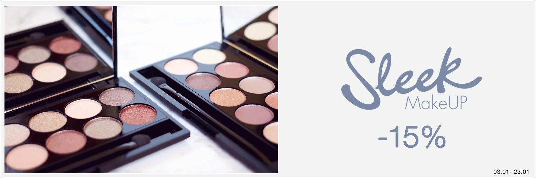 Sleek Makeup -15%