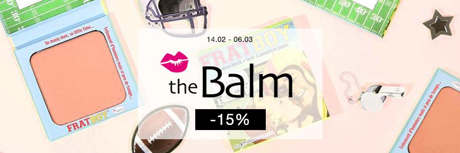 TheBalm -15%