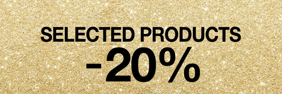 Selected Products -20%