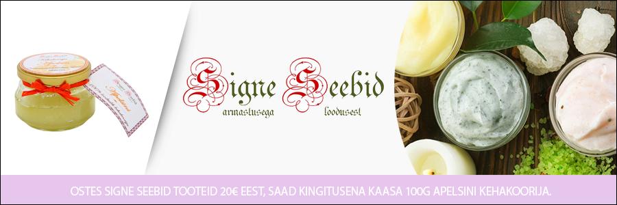 Signe Seebid kingitus