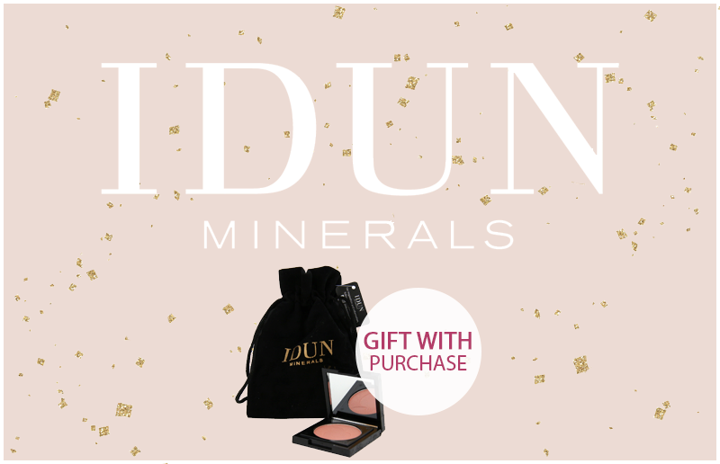 IDUN Minerals. Gift with Purchase!